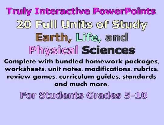 Homeschool Science Curriculum that uses PowerPoint / Highly