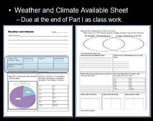 weather and climate unit powerpoint lessons for educators. Black Bedroom Furniture Sets. Home Design Ideas